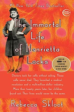 Book cover for The Immortal Life of Henrietta Lacks by Rebecca Skloot