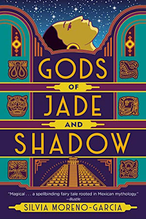 Book cover for Gods of Jade and Shadow by Silvia Moreno-Garcia