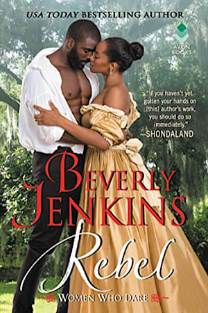 Book cover for Rebel by Beverly Jenkins