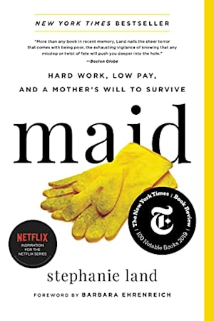 Book cover for Maid by Stephanie Land