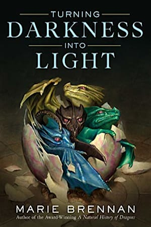 Book cover for Turning Darkness into Light by Marie Brennan