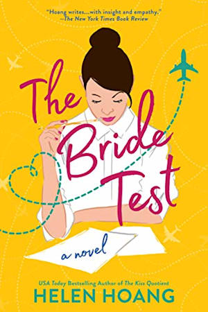 Book cover for The Bride Test by Helen Hoang