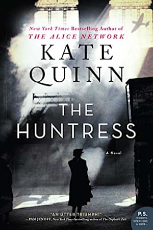 Book cover for The Huntress by Kate Quinn