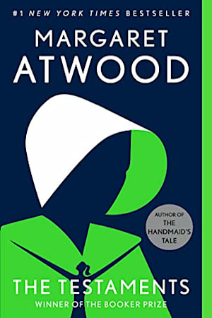 Book cover for The Testaments by Margaret Atwood