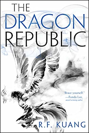 Book cover for The Dragon Republic by R. F. Kuang