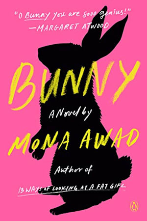 Book cover for Bunny by Mona Awad