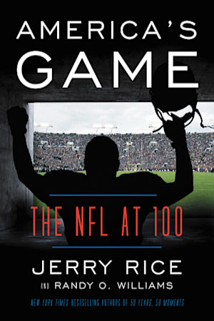 Book cover for America's Game by Randy O. Williams, Jerry Rice