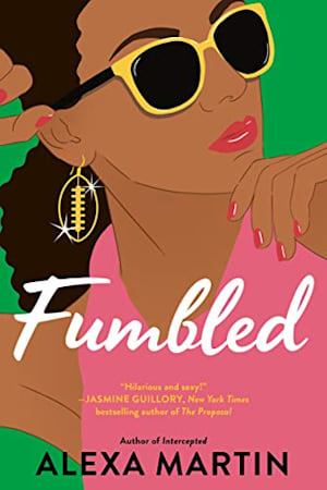 Book cover for Fumbled by Alexa Martin