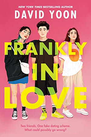 Book cover for Frankly in Love by David Yoon