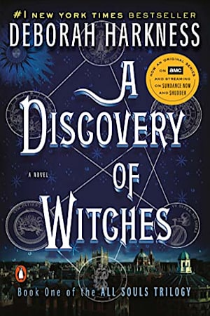 Book cover for A Discovery of Witches by Deborah Harkness