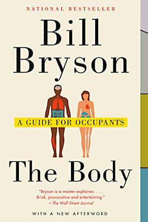 Book cover for The Body by Bill Bryson