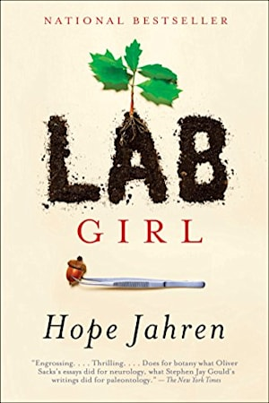 Book cover for Lab Girl by Hope Jahren