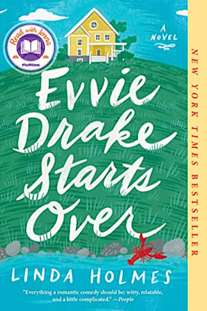 Book cover for Evvie Drake Starts Over by Linda Holmes