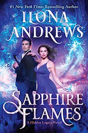 Book cover for Sapphire Flames by Ilona Andrews