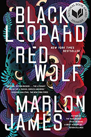 Book cover for Black Leopard, Red Wolf by Marlon James
