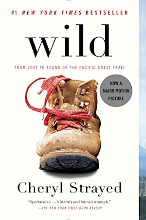 Book cover for Wild by Cheryl Strayed