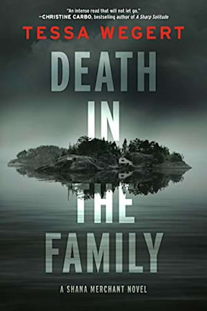 Book cover for Death in the Family by Tessa Wegert