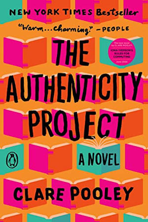 Book cover for The Authenticity Project by Clare Pooley