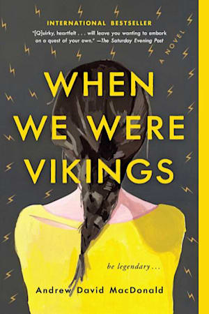 Book cover for When We Were Vikings by Andrew David MacDonald