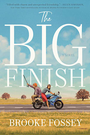 Book cover for The Big Finish by Brooke Fossey