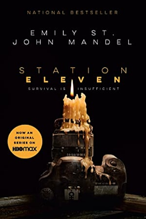 Book cover for Station Eleven by Emily St. John Mandel