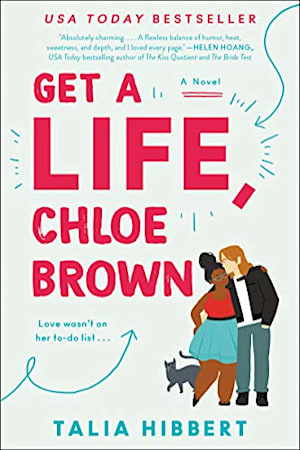 Book cover for Get a Life, Chloe Brown by Talia Hibbert