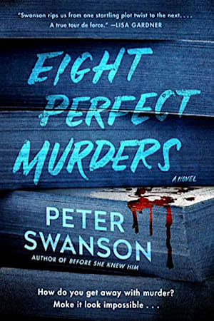Book cover for Eight Perfect Murders by Peter Swanson