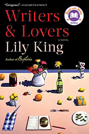 Book cover for Writers and Lovers by Lily King