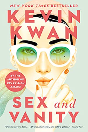 Book cover for Sex and Vanity by Kevin Kwan