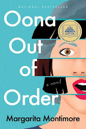 Book cover for Oona Out of Order by Margarita Montimore