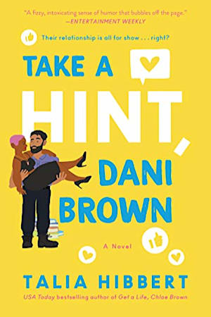 Book cover for Take a Hint, Dani Brown by Talia Hibbert