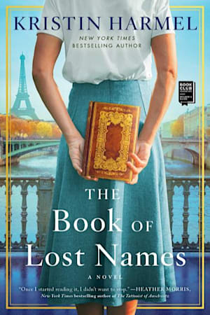 Book cover for The Book of Lost Names by Kristin Harmel