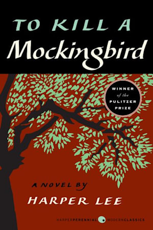 Book cover for To Kill a Mockingbird by Harper Lee