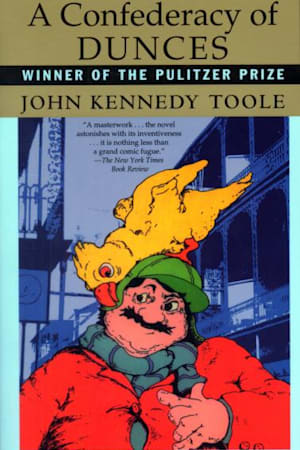 Book cover for A Confederacy of Dunces by John Kennedy Toole