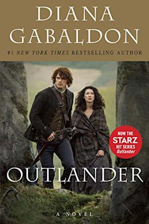 Book cover for Outlander by Diana Gabaldon