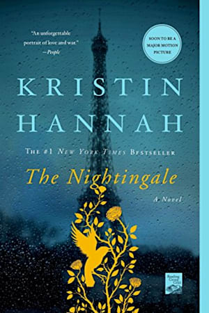Book cover for The Nightingale by Kristin Hannah