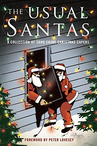 The Usual Santas by Peter Lovesey