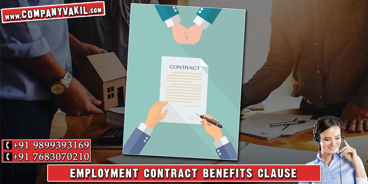 specimen employment contract letter format