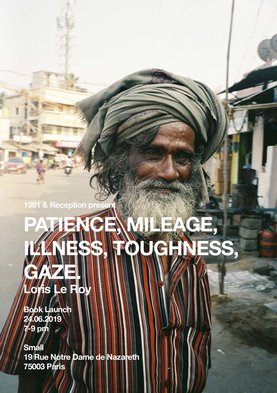 Patience, Mileage, Illness, Toughness, Gaze. - © 1991 Books