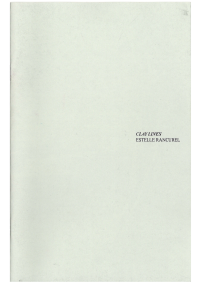Clay Lines - © 1991 Books