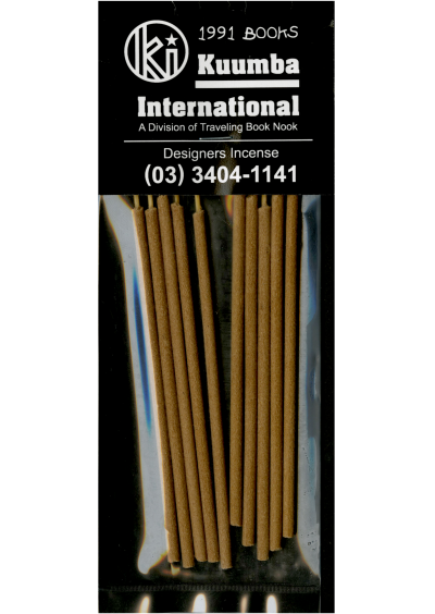 Kuumba Incense - © 1991 Books