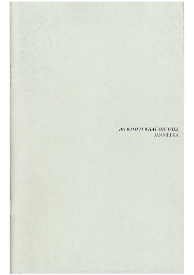 Do With It What You Will - © 1991 Books