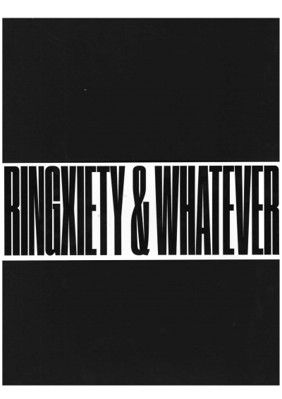 Ringxiety & Whatever - © 1991 Books