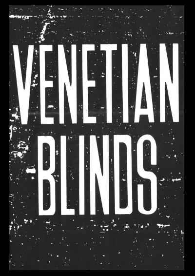 Venetian Blinds - © 1991 Books
