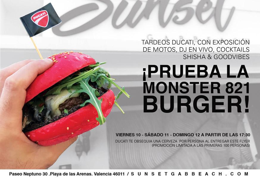 El fenomeno de la Ducati Burger
