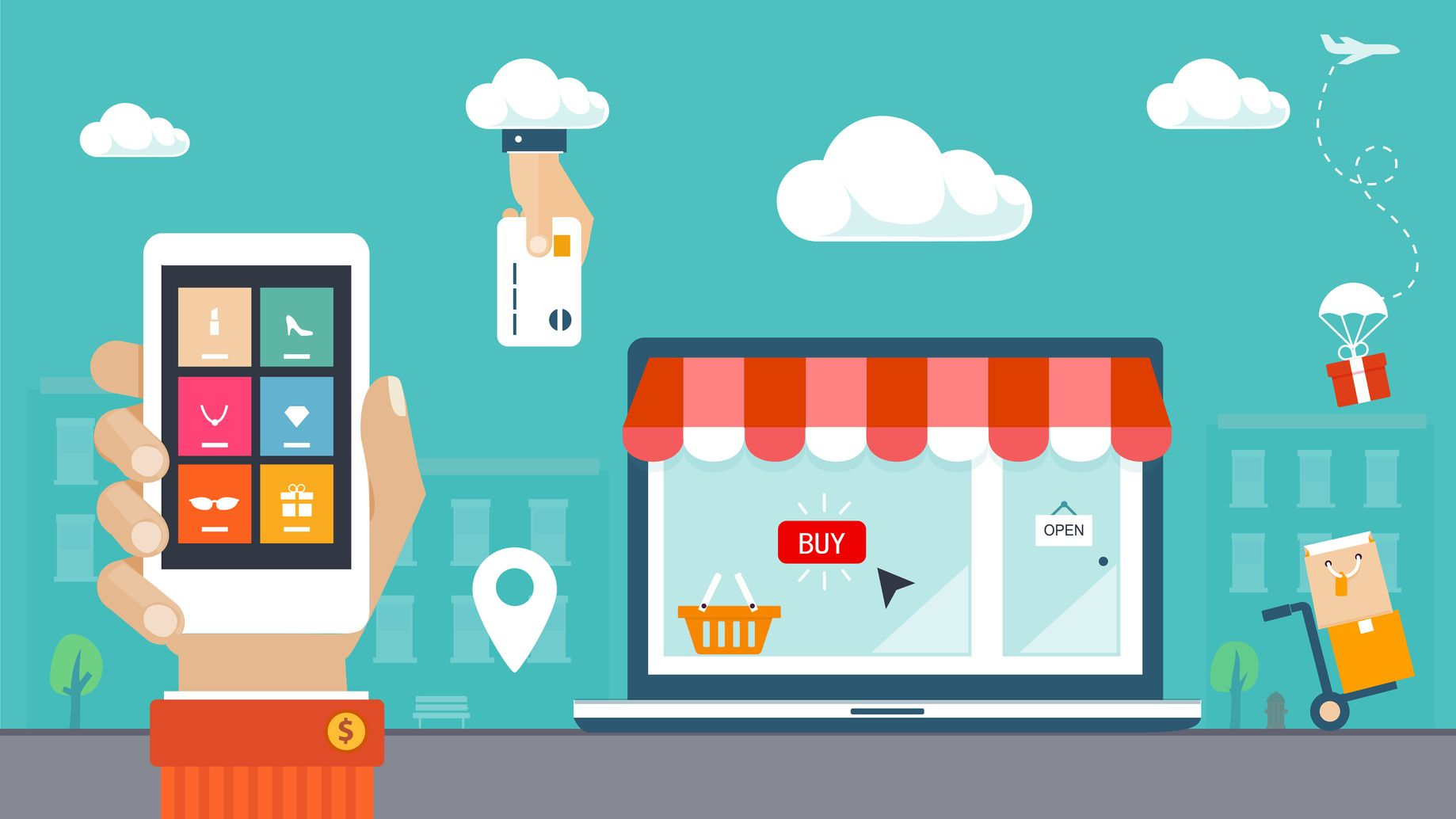 5 Razones por qué tu empresa necesita estar y vender productos por internet…