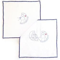 Mouchoirs en tissu, Made in France, matière lin
