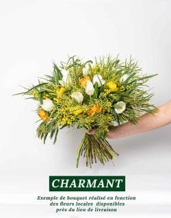 Bouquet de fleurs locales et de saison