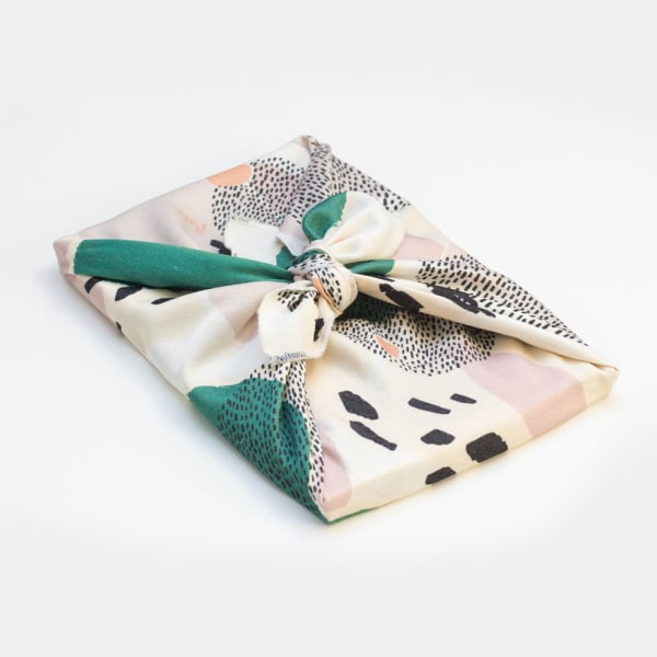Emballage cadeau réutilisable, zéro déchet, MANTRA
