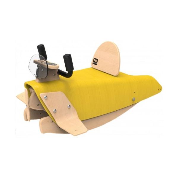 Jouet en bois évolutif - Avion à bascule 2 en 1